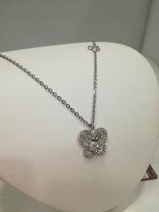 Collana donna con ciondolo farfalla in bronzo Manuel Zed Q2262_4400 LISTINO 49