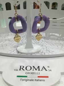 Orecchini donna Via Roma Gioielli glicine
