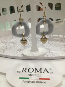 Orecchini donna Via Roma Gioielli grigio chiaro