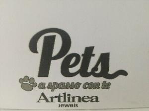 Collana in argento 925 Artlinea Pets con gatto