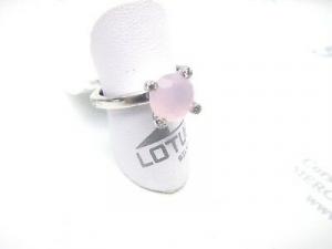 Anello donna in argento 925 con pietra rosa Lotus  cod. LP1710-3/4