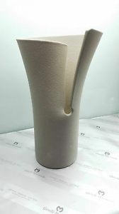 Vaso elica  Lineasette in grès porcellanato cod. VM511B Arredo Moderno Made in Italy