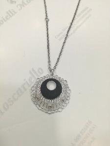 Collana donna Byblos cod. 9315 in acciaio parzialmente nero