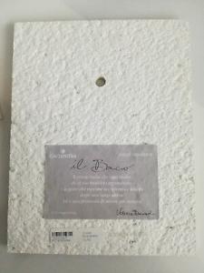 Formella da parete/tavolo Cartapietra Bacio cod. PC141880RA
