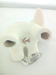 Elefante in porcellana Capodimonte Alexia Baby Rosa 8032/2r