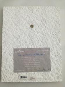 Formella da parete/tavolo Cartapietra La carezza della sera cod. PC141888OR