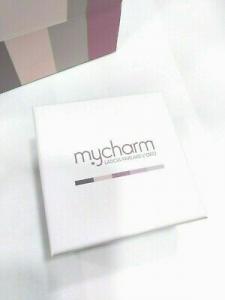 Scapolare Mycharm  con doppio ciondolo con frase incisa AC59