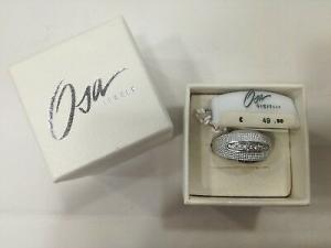 Anello donna Osa Jewels cod. 9805 con zirconi bianchi misura 14/15