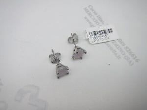 Orecchini donna in argento 925 con pietra rosa Lotus LP1710-4/4