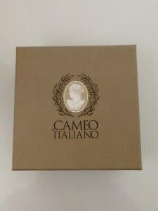 Bracciale Pompei Cameo Italiano con Cameo Inciso a Mano  B90 LISTINO 280
