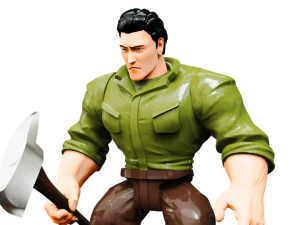 Mighty Maniax action figure: WOODSMAN by Rocom Toys