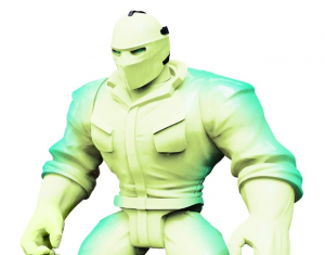 Mighty Maniax action figure: GLOW SPECTRE SLASHER by Rocom Toys