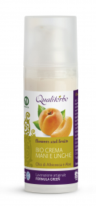 Bio Crema Mani e Unghie  50 ml - Flowers and Fruits - (Vegan ok, no Parabeni, no Peg)