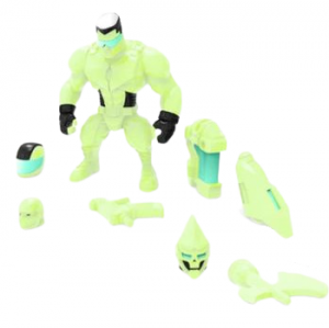 Mighty Maniax action figure: JOHNNY TOMBSTONE Glow in the Dark by Rocom Toys