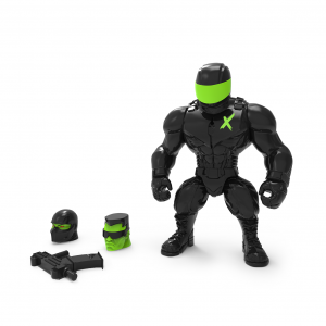 Mighty Maniax action figure: MUTANT SOLDIER by Rocom Toys
