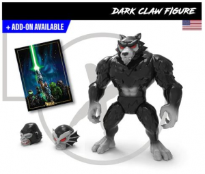 Mighty Maniax action figure: DARK CLAW by Rocom Toys