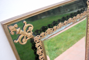 Specchio vintage decorato