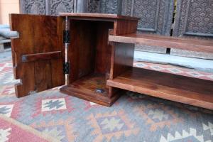 Porta TV/Libreria in palissandro indiano