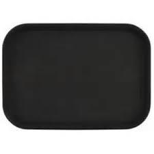Tablett camtray fiber schwarz rechteckig (6stck)