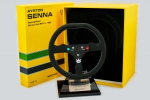 McLaren MP4 Steering Wheel Ayrton Senna 1/2 Minichamps