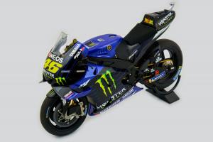 Yamaha YZR-MI Valentino Rossi Movistar Yamaha Moto Gp 2019 1/12 Minichamps