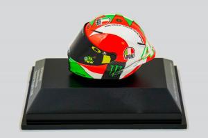 AGV Helmet Valentino Rossi Moto Gp Mugello 2018 1/8 Minichamps