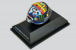 AGV Helmet Valentino Rossi Moto GP Misano 2018 1/8 Minichamps