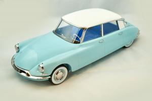 Citroen Ds19 1959 Blue Nuage Blanc Carrare 1/12 Norev