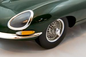 Jaguar E-Type Coupe 1961 Green 1/12 Norev