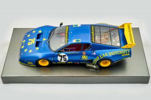 Ferrari 512 Bb Lm 1980 Car 75 Team J.M.S. Racing Limted 1520 Pcs 1/18 Bbr
