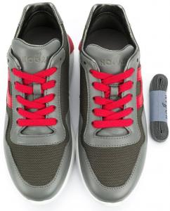 Sneaker Interactive Grigio, Rosso bambino HOGAN HXC3710AP30OE42B13 -20