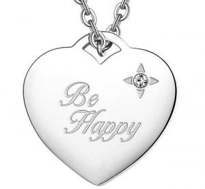 S'AGAPÕ Collana Be My Always, Happy