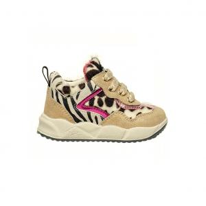 Sneaker platino animalier Falcotto
