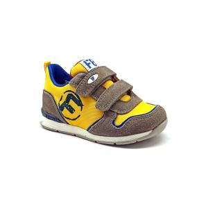 Sneaker gialla Falcotto