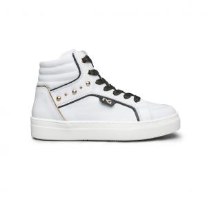 Sneaker alta bianca NeroGiardini
