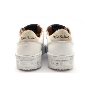 Sneaker bianca con paillets NiRa Rubens