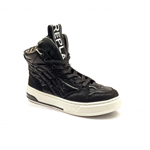 Sneaker alta nera Replay