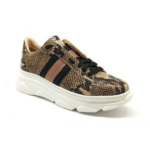 Chunky sneaker cipria Stokton