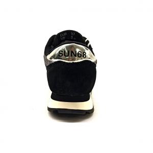 Snaeker nera/argento pois SUN68