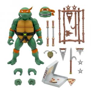 Teenage Mutant Ninja Turtles: Ultimates Action Figure MICHELANGELO by Super 7