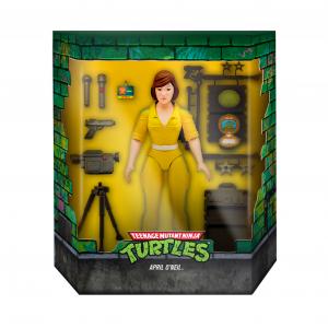 *PREORDER* Teenage Mutant Ninja Turtles: Ultimates Action Figure APRIL O'NEIL by Super 7