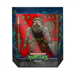 *PREORDER* Teenage Mutant Ninja Turtles: Ultimates Action Figure ROCKSTEADY by Super 7