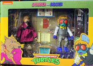 *PREORDER* Teenage Mutant Ninja Turtles Action Figure: SPLINTER & BAXTER by Neca