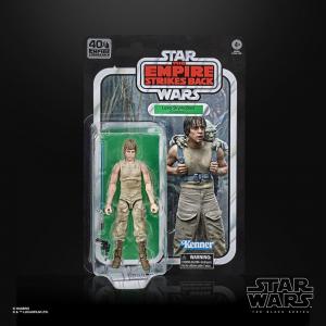 Star Wars: Black Series (Classic Box) LUKE SKYWALKER (Dagobah) Empire Strike Back40th Anniversary by Hasbro