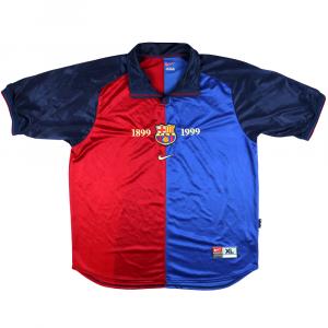 1999-00 Barcelona Maglia Centenario XL (Top)