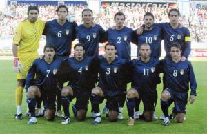 2004 Italia Kit Terza Maglia e Pantalonicini XL (Top)