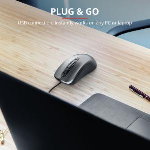 Trust Carve mouse USB tipo A Ottico 1200 DPI Ambidestro