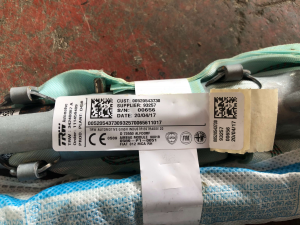 Air Bag a tendina dx usato F. 500 2015> cod. 520543730