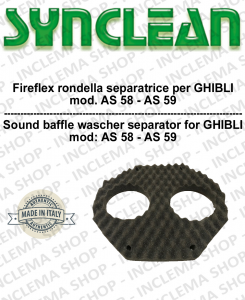 FIREFLEX RONDELLA SEPARA MOTORI PER aspirapolvere  GHIBLI COD: 3000651