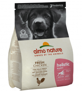 Almo Nature - Holistic Dog - Medium/Large - Puppy - Pollo Fresco - 2kg